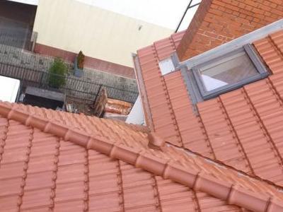 Widok z dachu domu